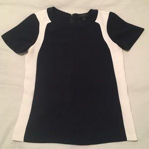 J. Crew Navy Shirt - Dressy T-Shirt
